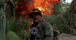 He then proclaimed himself a sexual Tyrannosaurus and blew up half the jungle.